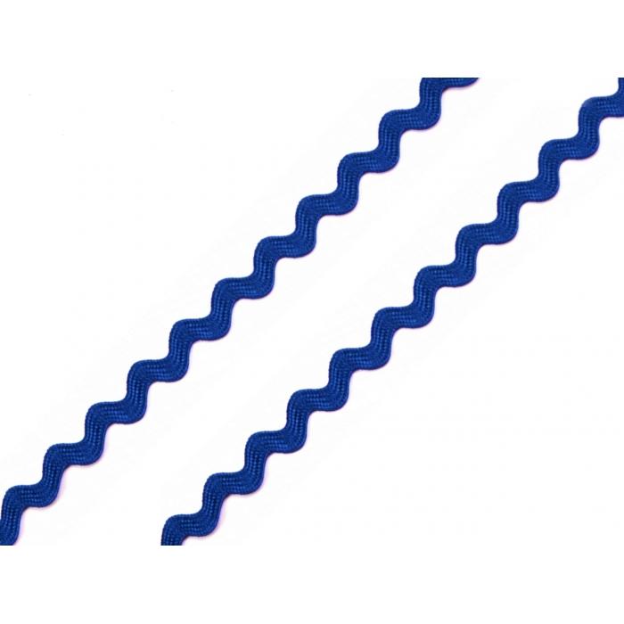 Hadovka 4mm  tm. modrá
