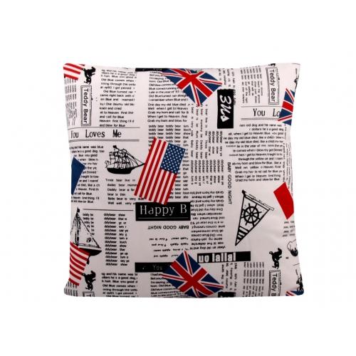 Povlak na polštář - vlajky