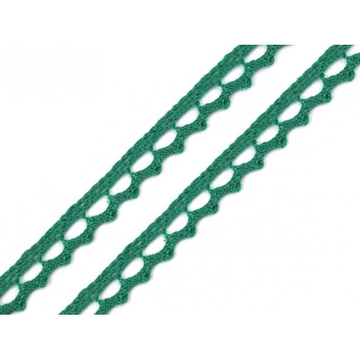 Krajka č.92 - zelená