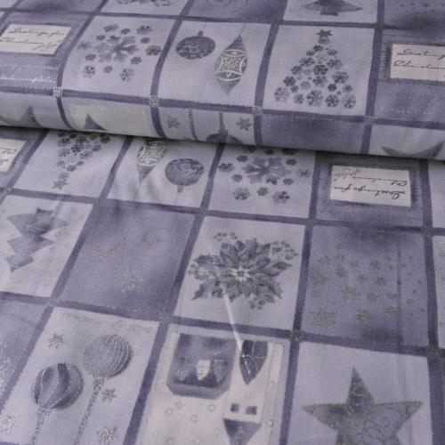 Stříbrný patchwork