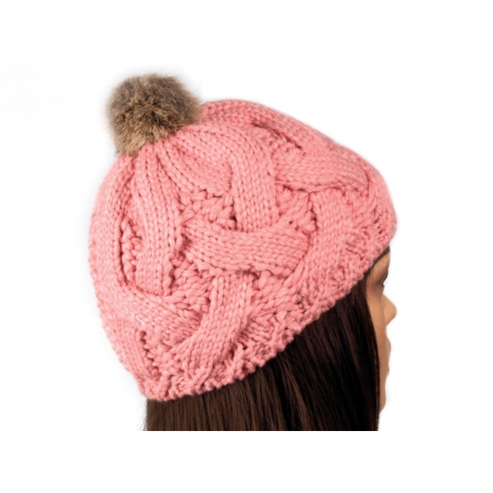 Čepice růžová