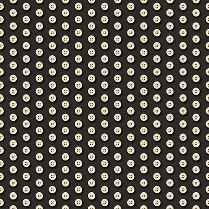 č.4963 knoflíky na černé