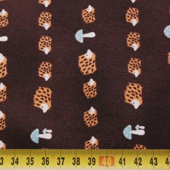č.5040 ježečci na hnědé
