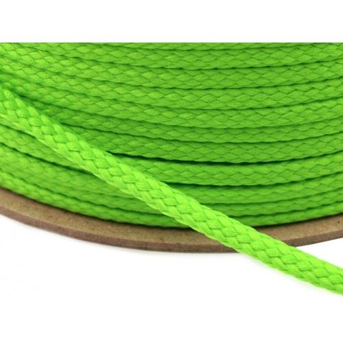 Šňůra zelená PES Ø4 mm