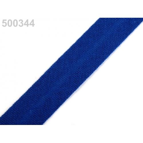 Šikmý proužek modrý