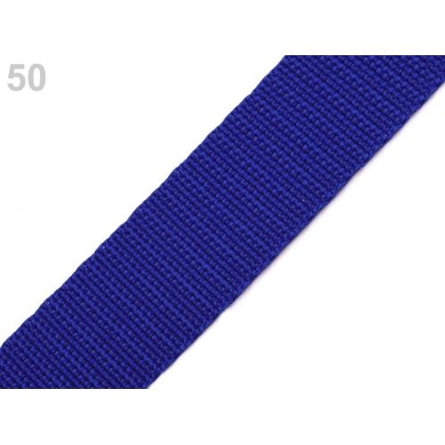 Popruh modrý (24mm)