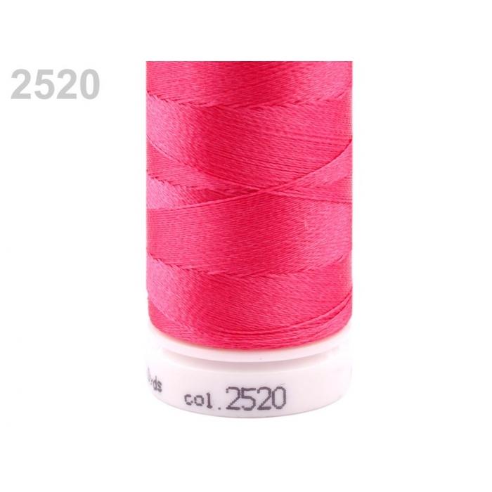 Jádrová nit č.2520 sytě růžová