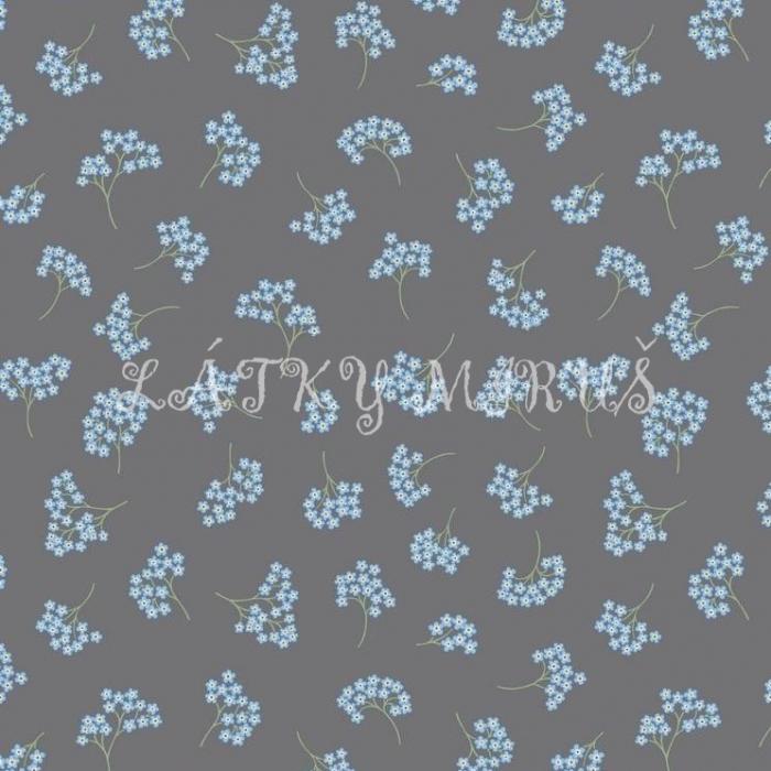 č.2999 květy na šedé
