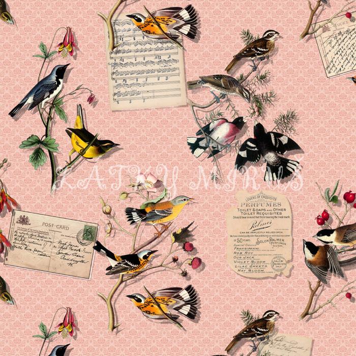 Panel ptáci 1 - digi tisk