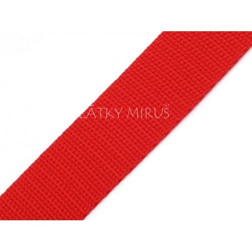 Popruh FIERY RED  (30mm)