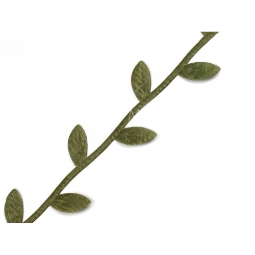 Prýmek listy zelené