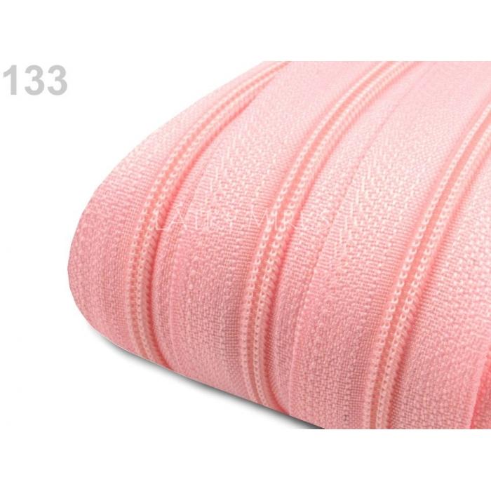 Zip - Candy pink 3mm