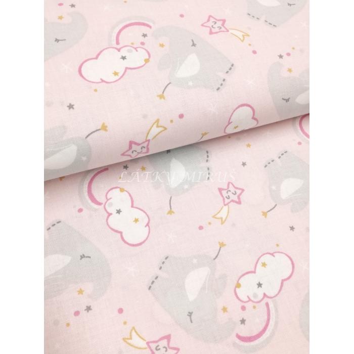 č.6202 sloni na růžové