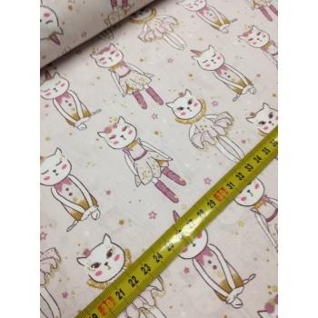 č.6206 kočky - gold