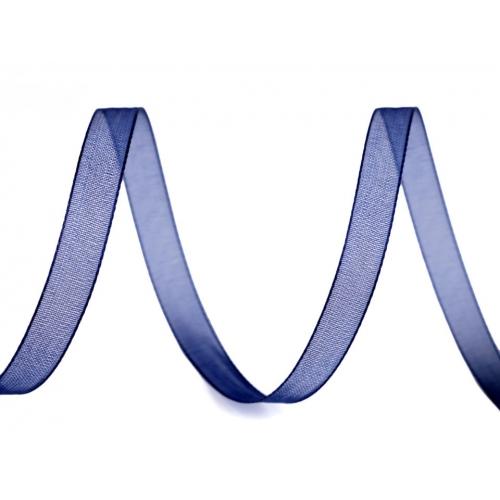 Monofilová stuha tm.modrá