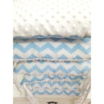 Hnízdo pro miminko - sv.modré