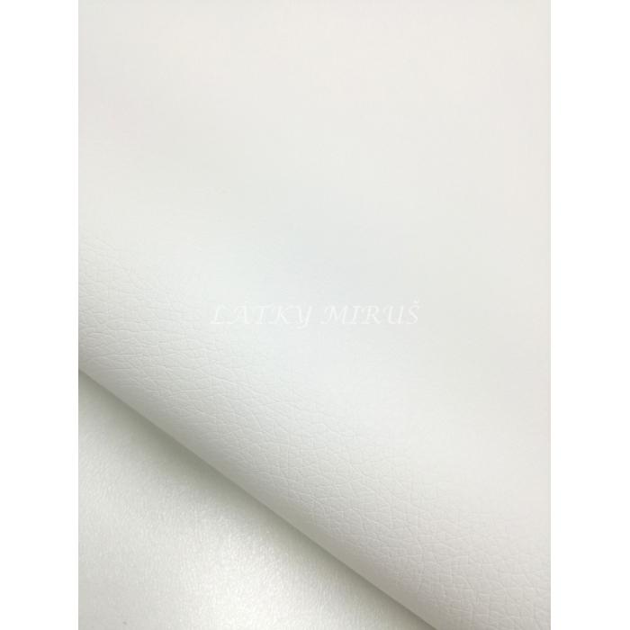 Koženka 710/1 bílá