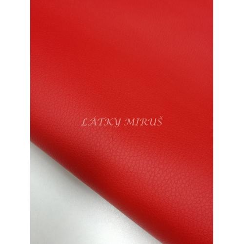 Koženka 710/87 červená