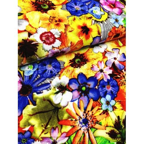 Viskoza květy