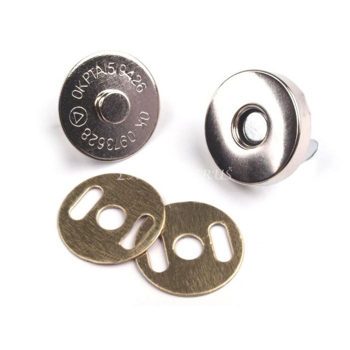 Magnetické Zapínání nikl - Ø18 Mm