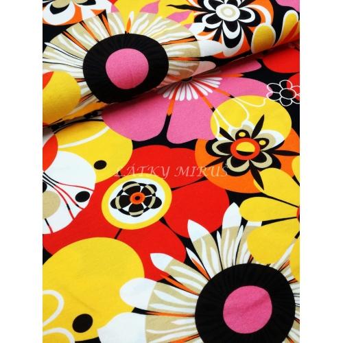 č.3958 viskoza - květy