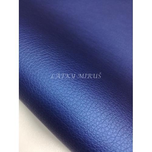 Koženka 17 modrá s perletí