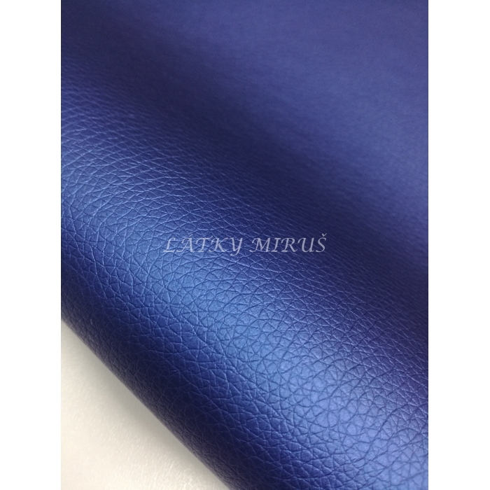 Koženka 714/105 modrá s perletí