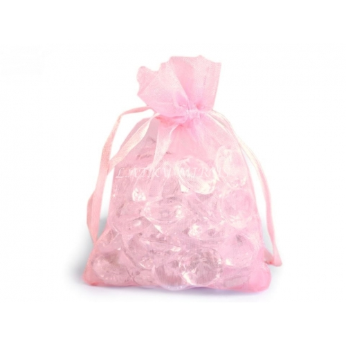 Dárkový pytlík 9x11 cm růžový