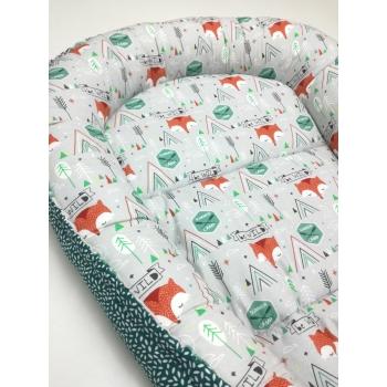 Hnízdečko pro miminko - Lišky 2
