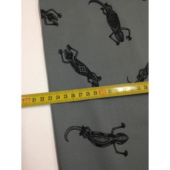 softshell 96 ještěrky na šedé