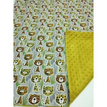 Dětská deka - divoké kočky 1