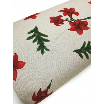 č.1205 vánoční růže na režné