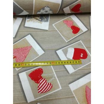 č.3739 vánoční kartičky na deskách