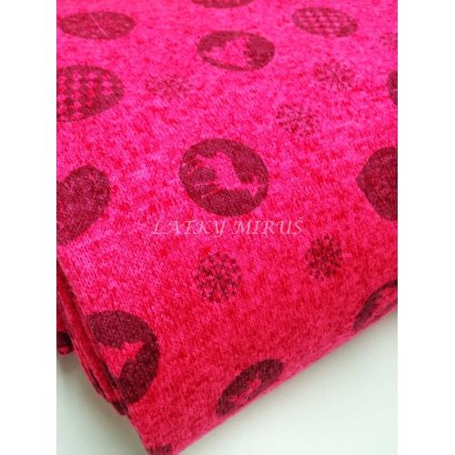 Svetrovina - baňky na růžové