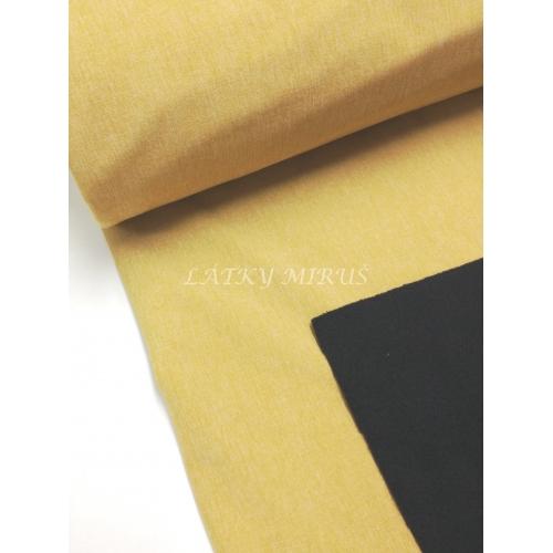 Softshell 106 žlutá melír
