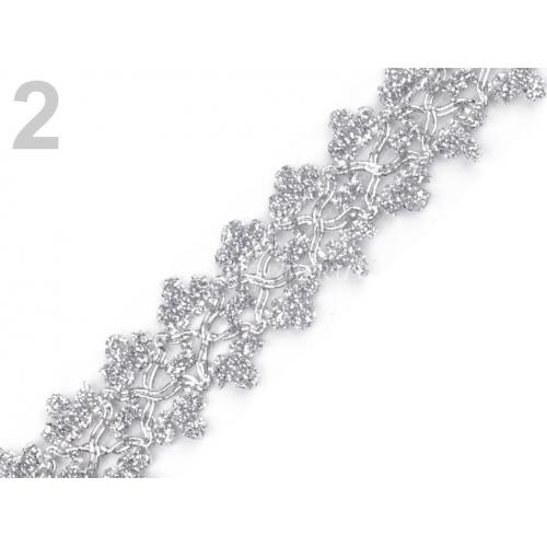 Prýmek leonský 2 - stříbrný