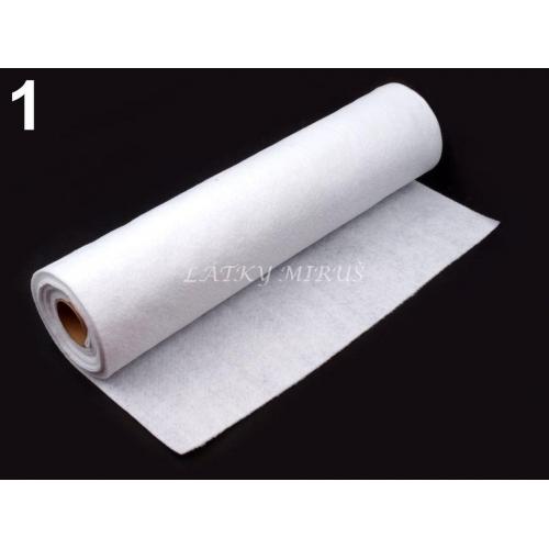 Plsť / Filc Šíře 41 Cm - bílá