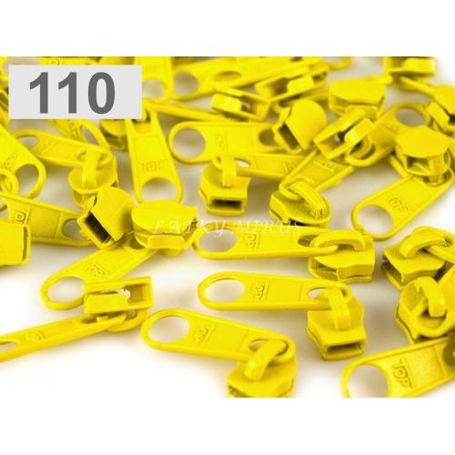 Jezdec 5mm - žlutý