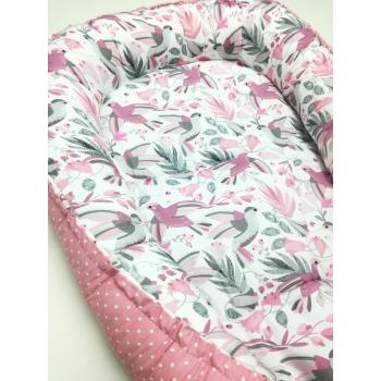 Polštářkový mantinel 6ks - růžová