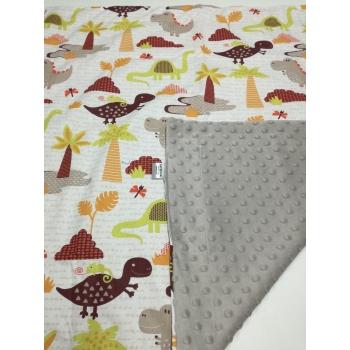 Dětská deka - dinosauři