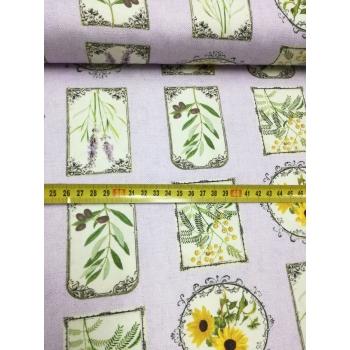 č.2451 bylinky na fialové