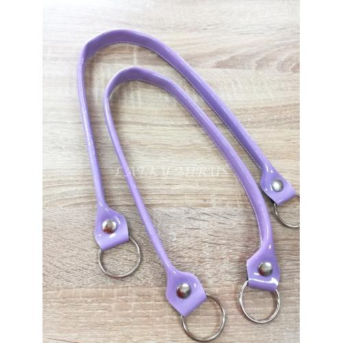 Ucha na kabelku  - fialové