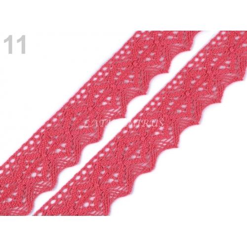 Krajka č.212 růžová