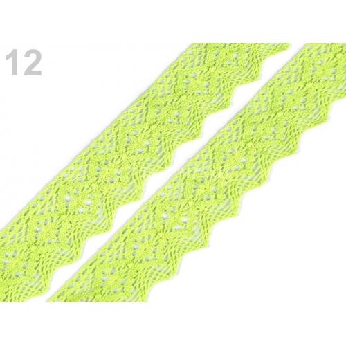 Krajka č.213 limetková