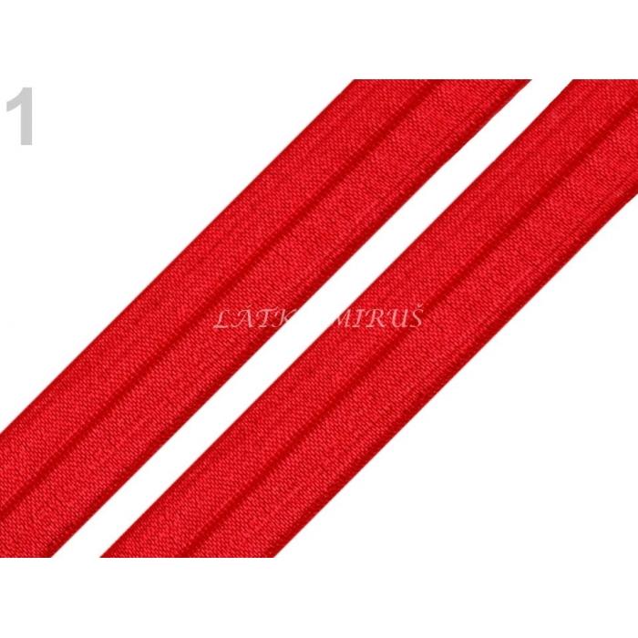 Lemovací pruženka červená matná