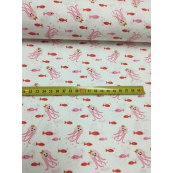 č.5464 chobotnice na bílé