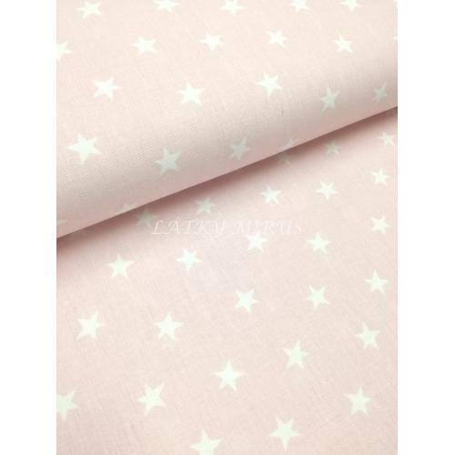 č.2449 hvězdy na pastelově  růžové