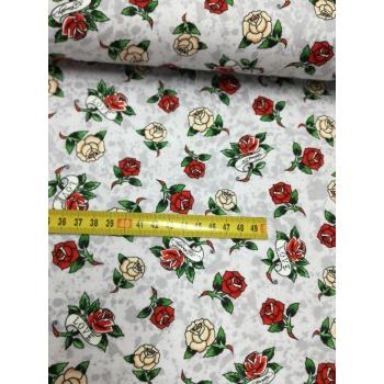 č.4969 růže na šedé