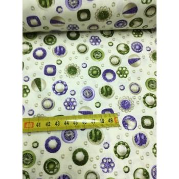č.3133 knoflíky fialové