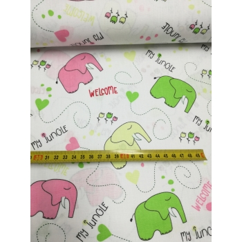 č.2200 sloni na bílé